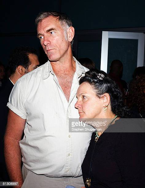"""Director John Sayles and Producer Maggie Renzi attend the after party for the Los Angeles Premiere of """"Silver City"""" at the Arclight Cinerama Dome on..."""