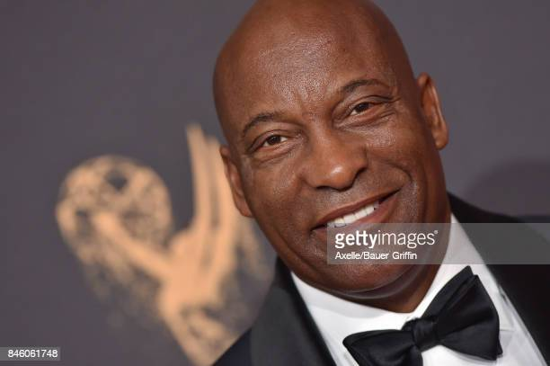 Director John Singleton arrives at the 2017 Creative Arts Emmy Awards at Microsoft Theater on September 9 2017 in Los Angeles California