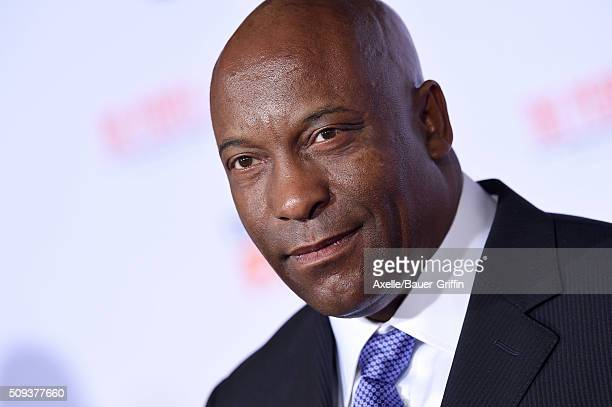 Director John Singleton arrives at the premiere of 'FX's 'American Crime Story The People V OJ Simpson' at Westwood Village Theatre on January 27...
