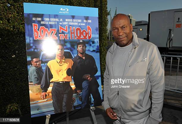 Director John Singleton attends the Boyz N The Hood unofficial party during the 2011 Los Angeles Film Festival held at the Jameson Filmmaker Lounge...