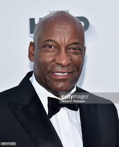 Director John Singleton attends the Vanity and FX Annual Primetime Emmy Nominations Party at Craft Restaurant on September 17 2016 in Beverly Hills...