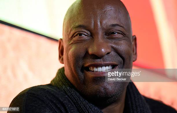 Director John Singleton participates in the BET Network panel Rise Up The Evolution of Black Womanhood on Screen at The Blackhouse during The...