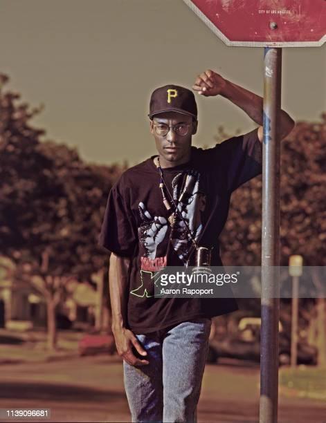 Director John Singleton poses for a portrait in Los Angeles California