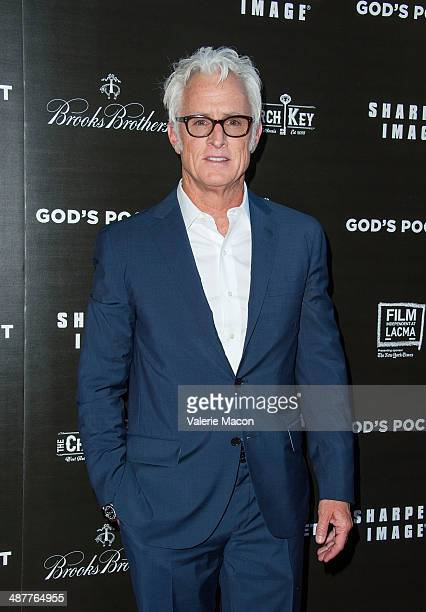 Director John Slattery arrives at the Premiere Of IFC Films' God's Pocket at LACMA on May 1 2014 in Los Angeles California