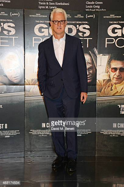 Director John Slattery poses at a photocall for God's Pocket at BFI Southbank on August 4 2014 in London England