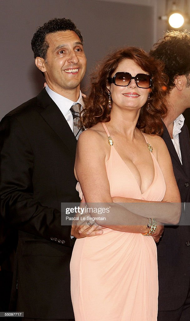 Director John Turturro and actress Susan Sarandon attend the premiere for the in competition film 'Romance And Cigarettes' at the Palazzo del Cinema on the seventh day of the 62nd Venice Film Festival on September 6, 2005 in Venice, Italy.