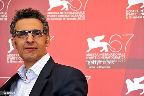 Director John Turturro attends the Passione photocall during the 67th Venice Film Festival at the Palazzo del Casino on September 4 2010 in Venice...