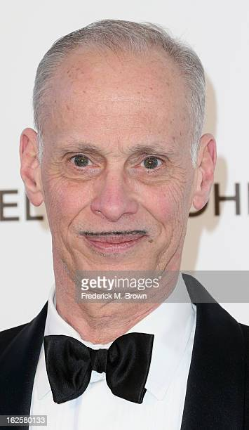 Director John Waters arrives at the 21st Annual Elton John AIDS Foundation's Oscar Viewing Party on February 24 2013 in Los Angeles California