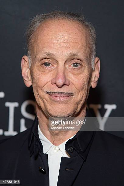 Director John Waters attends 'Misery' Broadway opening night at The Broadhurst Theatre on November 15 2015 in New York City