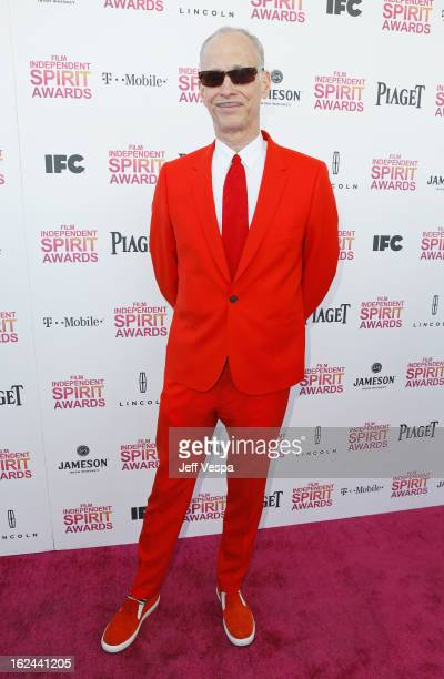Director John Waters attends the 2013 Film Independent Spirit Awards at Santa Monica Beach on February 23 2013 in Santa Monica California