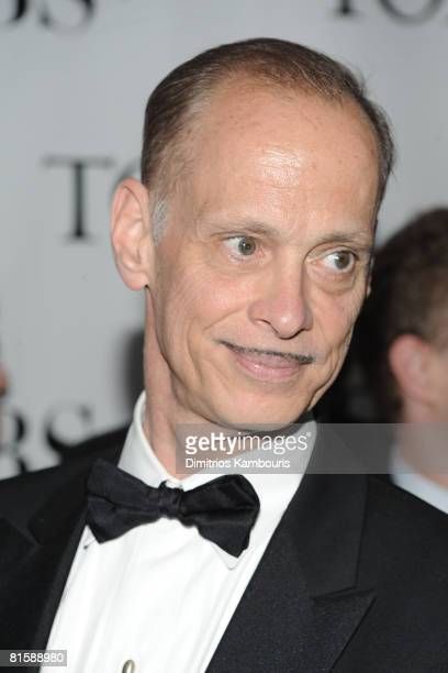 Director John Waters attends the 62nd Annual Tony Awards at Radio City Music Hall on June 15 2008 in New York City