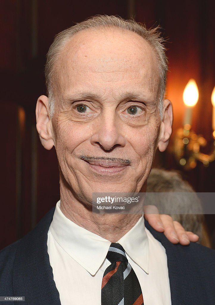 Director John Waters attends the Dom Perignon Reception after The Un-Private Collection: Jeff Koons and John Waters in Conversation at Orpheum Theatre on February 24, 2014 in Los Angeles, California.