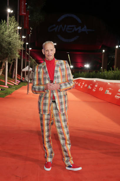 ITA: John Waters Red Carpet - 15th Rome Film Festival 2020