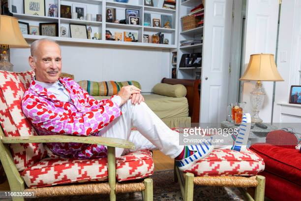 Director John Waters is photographed for Paris Match on July 20 2019 in Provincetown Massachusetts PUBLISHED IMAGE