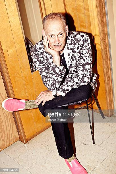 Director John Waters is photographed for Spin Magazine on June 12 2011 at Bonnaroo in Manchester Tennessee