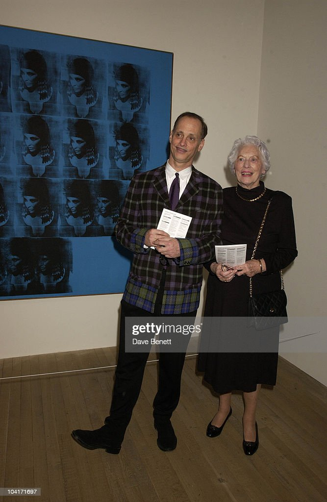 Director John Waters, The Andy Warhol Exhibition At The Tate Modern Art Gallery, London