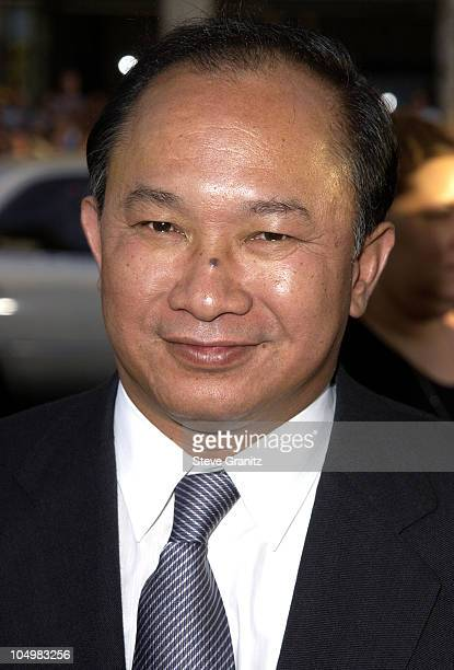 Director John Woo during Windtalkers Premiere at Grauman's Chinese Theatre in Hollywood California United States