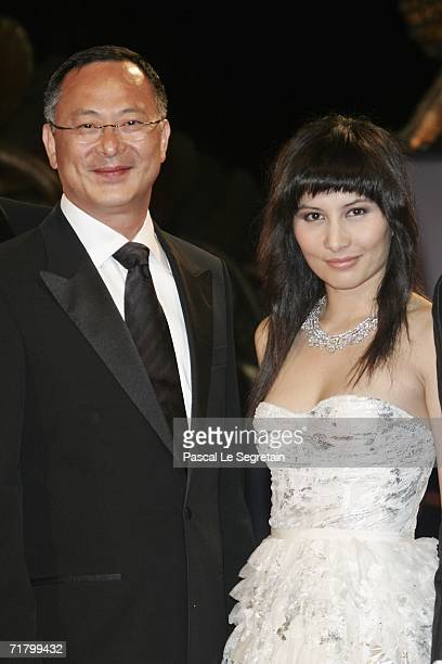 Director Johnnie To and actress Josie Ho attend the premiere of the film 'Exiled' during the eight day of the 63rd Venice Film Festival on September...