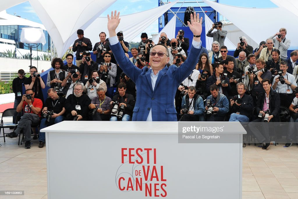 Director Johnnie To attends the photocall for 'Blind Detective' during The 66th Annual Cannes Film Festival at Palais des Festivals on May 20, 2013 in Cannes, France.