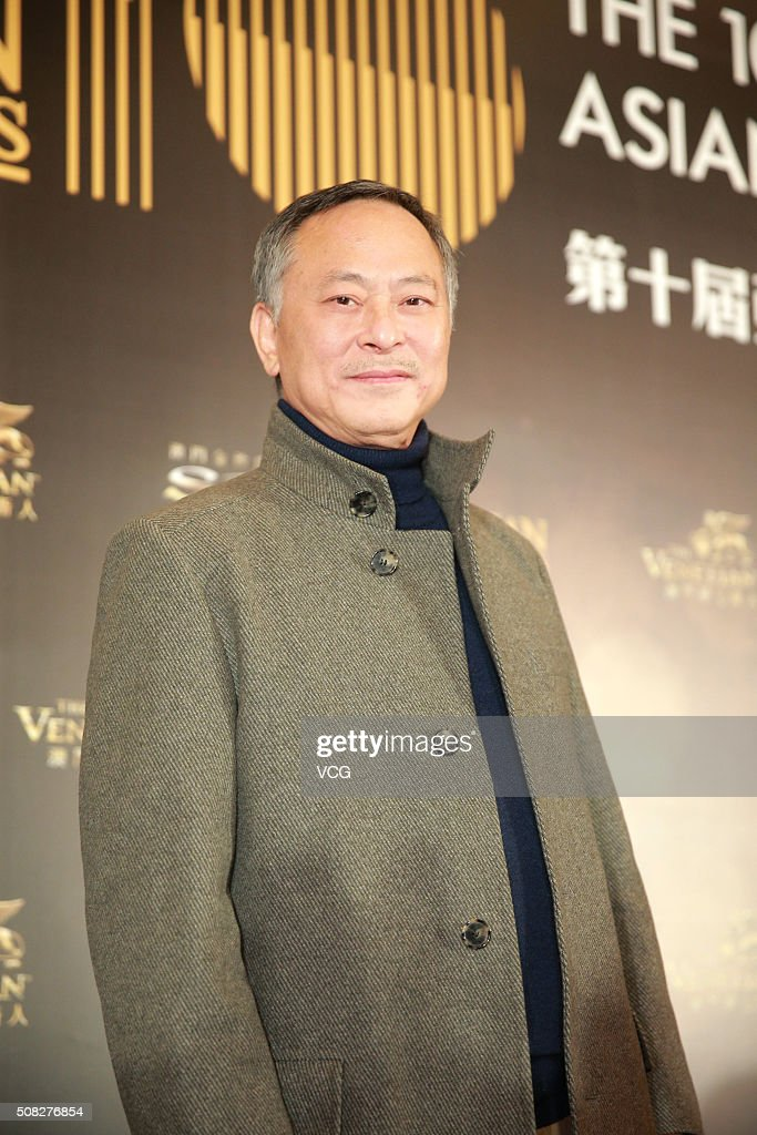 Director Johnnie To attends the press conference for the 10th Asian Film Awards on February 3, 2016 in Hong Kong, China.