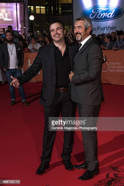 Director Jon Cassar and guest attends the 'Forsaken' premiere during the 2015 Toronto International Film Festival at Roy Thomson Hall on September 16...
