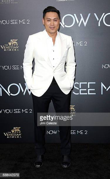 Director Jon Chu attends Summit Entertainment presents the world premiere of Now You See Me 2 at AMC Loews Lincoln Square on June 6 2016 in New York...