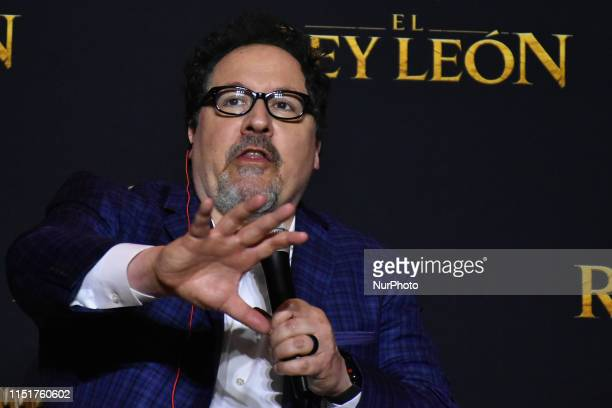 Director Jon Favreau attends at press conference to promete his latest film 'The Lion King' at St. Regis Hotel on June 24, 2019 in Mexico City, Mexico