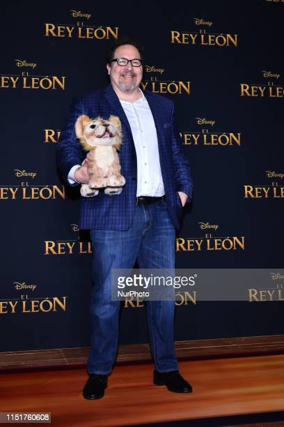 Director Jon Favreau attends at press conference to promete his latest film 'The Lion King' at St Regis Hotel on June 24 2019 in Mexico City Mexico