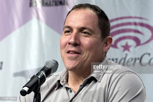 Director Jon Favreau attends the 2008 Wonder Con day 2 at the Moscone Center South on February 23 2008 in San Francisco California