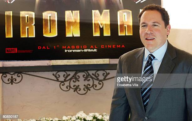 S director Jon Favreau attends the 'Iron Man' photocall at Hassler Hotel on April 23 2008 in Rome Italy