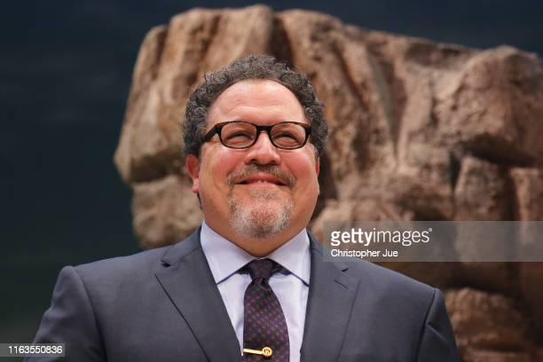 Director Jon Favreau attends 'The Lion King' Japan premiere at Toshima Arts and Culture Theatre on July 22 2019 in Tokyo Japan