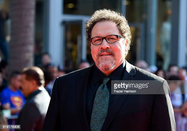 Director Jon Favreau attends the premiere of Disney's The Jungle Book at the El Capitan Theatre on April 4 2016 in Hollywood California