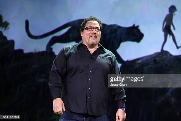 Director Jon Favreau of THE JUNGLE BOOK took part today in Worlds Galaxies and Universes Live Action at The Walt Disney Studios presentation at...