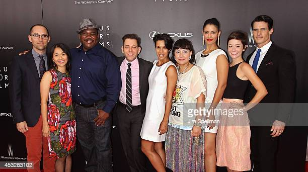Director Jon Goldman, actor Hong Chau, Leonard Earl Howze, executive producer of Lexus Short Films Joey Horvitz, director Satsuki Okawa, actors...
