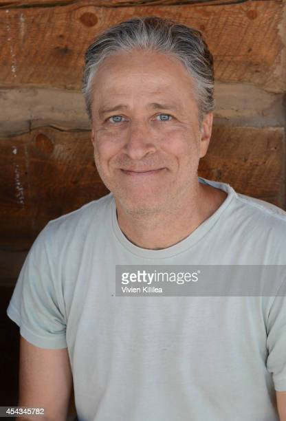 Director Jon Stewart attends the Patron's Brunch at the 2014 Telluride Film Festival Day 1 on August 29 2014 in Telluride Colorado