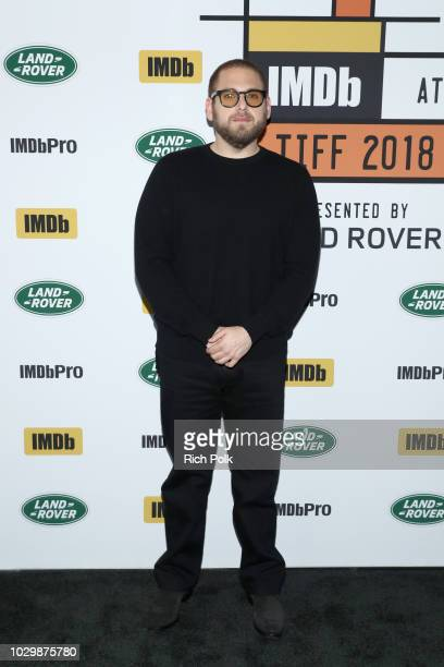 Director Jonah Hill of Mid90's attends The IMDb Studio presented By Land Rover At The 2018 Toronto International Film Festival at Bisha Hotel...