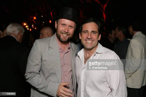 Director Jonathan Dayton and Steve Carell during Fox Searchlight Pictures Premiere of Little Miss Sunshine at the Closing Night Celebration of The...