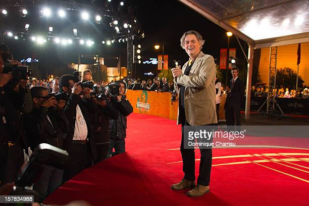 Director Jonathan Demme arrives at his tribute during the 12th International Marrakech Film Festival on December 6 2012 in Marrakech Morocco