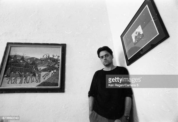 Director Jonathan Demme is photographed in March 1987 at Clinica Estetico office in New York City CREDIT MUST READ Ken Regan/Camera 5 via Contour by...