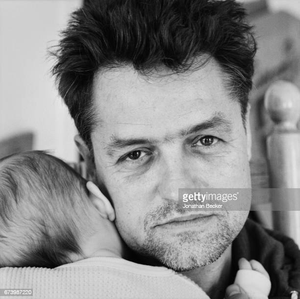 Director Jonathan Demme is photographed with daughter Ramona for Tatler Magazine on May 26 1988 in New York City