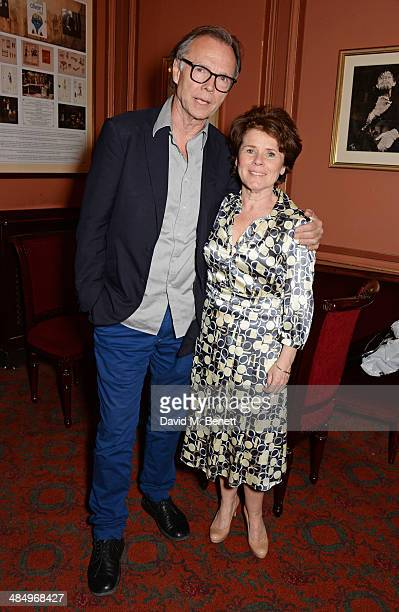Director Jonathan Kent and cast member Imelda Staunton attend the press night performance of Good People at the Noel Coward Theatre on April 15 2014...