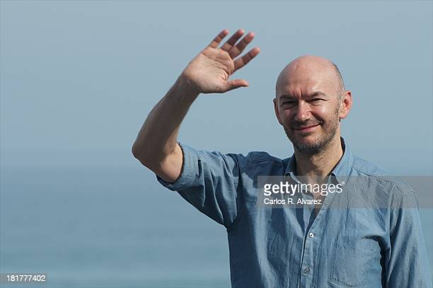 "Director Jonathan Teplitzky attends the ""The Railway Man"" photocall during the 61st San Sebastian International Film Festival at the Kursaal Palace..."