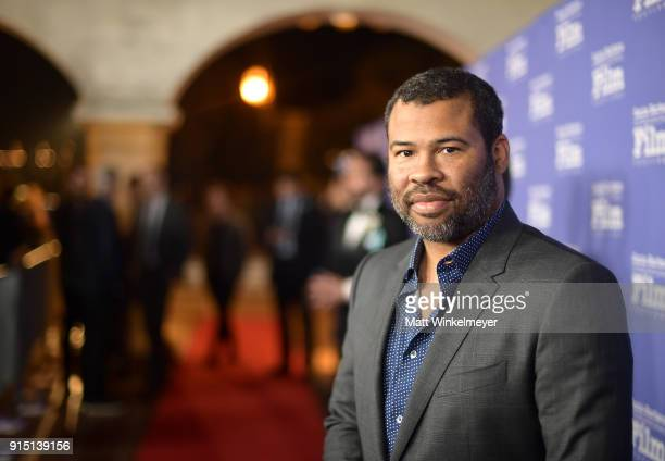 Director Jordan Peele at the Outstanding Directors Award Sponsored by The Hollywood Reporter during The 33rd Santa Barbara International Film...
