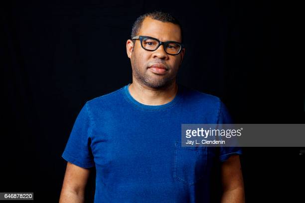Director Jordan Peele of the film 'Get Out' is photographed for Los Angeles Times on February 9 2017 in Los Angeles California PUBLISHED IMAGE CREDIT...