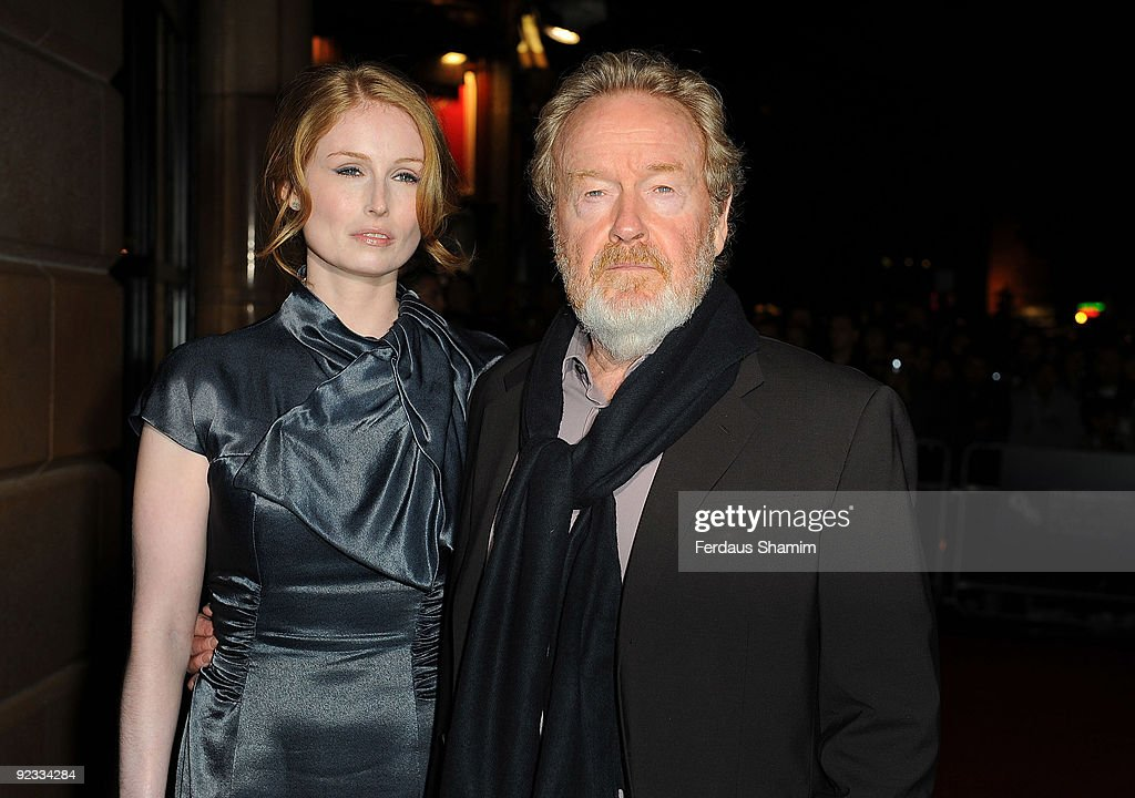 Director Jordan Scott and Ridley Scott attend the Screening of 'Cracks' as part of the Times BFI London Film Festival at Vue West End on October 25, 2009 in London, England.