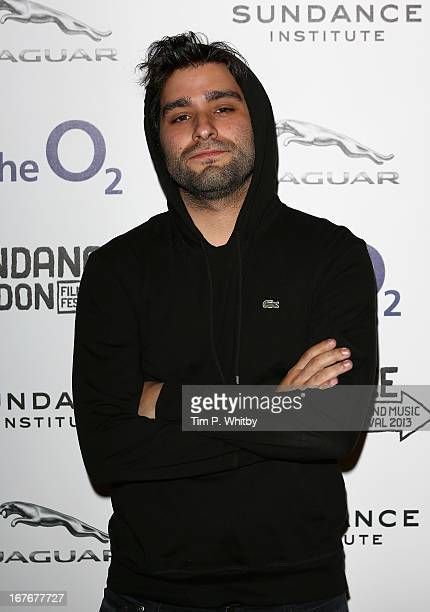 Director Jordan Vogt Roberts attends The Kings of Summer screening during Sundance London Film And Music Festival 2013 at Sky Superscreen O2 on April...