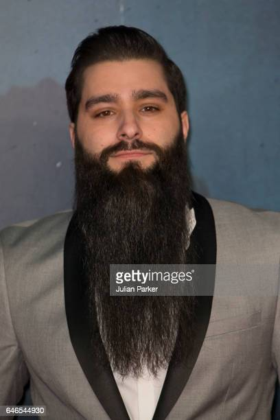 Director Jordan VogtRoberts attends the European premiere Of Kong Skull Island at Cineworld Leicester Sqaure on February 28 2017 in London United...