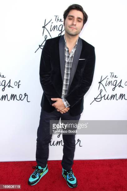 """Director Jordan Vogt-Roberts attends the """"The Kings Of Summer"""" Los Angeles premiere held at the ArcLight Hollywood on May 28, 2013 in Hollywood,..."""