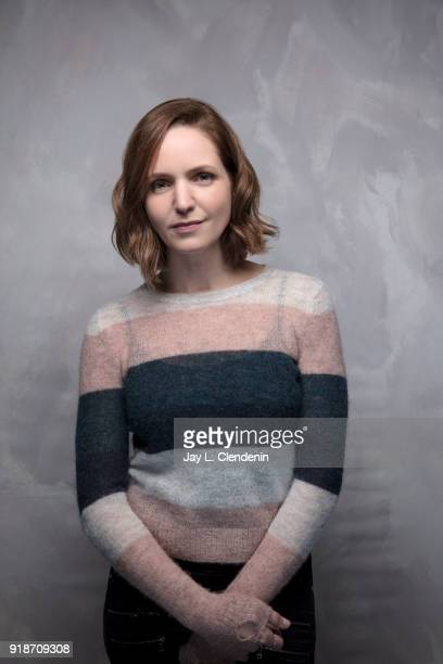 Director Jordana Spiro from the film 'Night Comes On' is photographed for Los Angeles Times on January 19 2018 in the LA Times Studio at Chase...