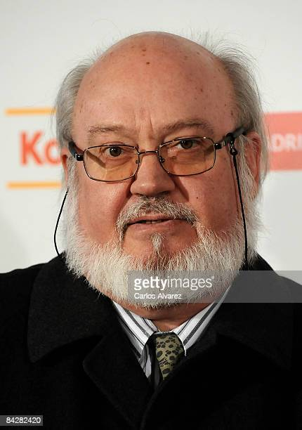 Director Jose Luis Cuerda attends 14th Jose Maria Forque Cinema Awards photocall on January 14 2009 at Palacio de Congresos in Madrid Spain